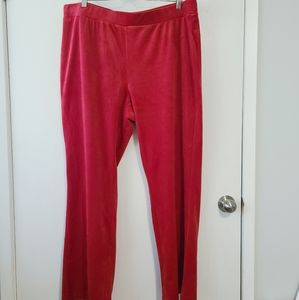 JUICY COUTURE NWOT Red Track Pants size 2X